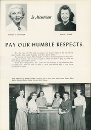 Page 17, 1955 Edition, Lewistown High School - Lore Yearbook (Lewistown, PA) online yearbook collection