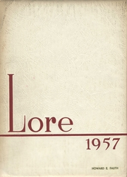 1957 Edition, Lewistown High School - Lore Yearbook (Lewistown, PA)