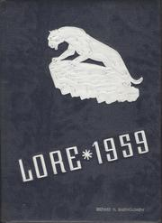 1959 Edition, Lewistown High School - Lore Yearbook (Lewistown, PA)