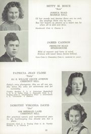 Page 16, 1941 Edition, Springfield Township High School - Retina Yearbook (Chestnut Hill, PA) online yearbook collection