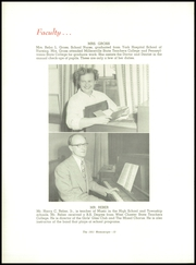 Page 14, 1951 Edition, Dover Area High School - Memos Cope Yearbook (Dover, PA) online yearbook collection