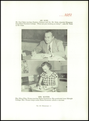 Page 15, 1951 Edition, Dover Area High School - Memos Cope Yearbook (Dover, PA) online yearbook collection
