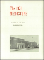 Page 5, 1951 Edition, Dover Area High School - Memos Cope Yearbook (Dover, PA) online yearbook collection