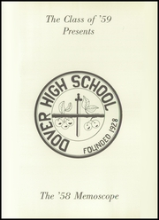 Page 5, 1958 Edition, Dover Area High School - Memos Cope Yearbook (Dover, PA) online yearbook collection