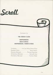 Page 7, 1951 Edition, Shippensburg High School - Scroll Yearbook (Shippensburg, PA) online yearbook collection
