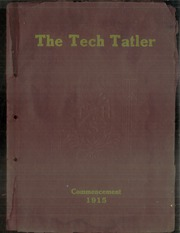 Page 1, 1915 Edition, Technical High School - Tech Tatler Yearbook (Harrisburg, PA) online yearbook collection