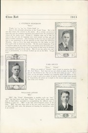 Page 15, 1915 Edition, Technical High School - Tech Tatler Yearbook (Harrisburg, PA) online yearbook collection