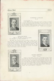 Page 8, 1915 Edition, Technical High School - Tech Tatler Yearbook (Harrisburg, PA) online yearbook collection