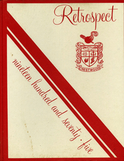 1975 Edition, Crestwood High School - Retrospect Yearbook (Mountain Top, PA)