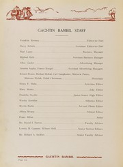 Page 14, 1931 Edition, Lehighton High School - Gachtin Bambil Yearbook (Lehighton, PA) online yearbook collection