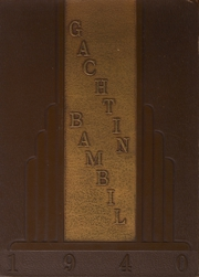 Page 1, 1940 Edition, Lehighton High School - Gachtin Bambil Yearbook (Lehighton, PA) online yearbook collection