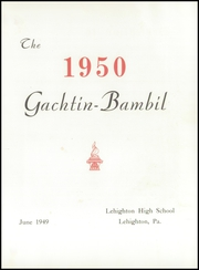 Page 5, 1950 Edition, Lehighton High School - Gachtin Bambil Yearbook (Lehighton, PA) online yearbook collection