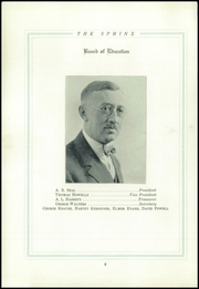 Page 12, 1925 Edition, Tamaqua High School - Sphinx Yearbook (Tamaqua, PA) online yearbook collection