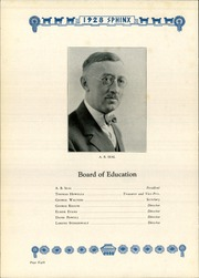 Page 12, 1928 Edition, Tamaqua High School - Sphinx Yearbook (Tamaqua, PA) online yearbook collection
