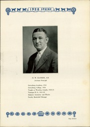 Page 15, 1928 Edition, Tamaqua High School - Sphinx Yearbook (Tamaqua, PA) online yearbook collection