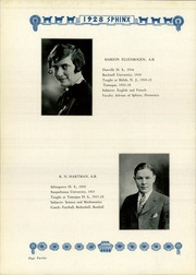 Page 16, 1928 Edition, Tamaqua High School - Sphinx Yearbook (Tamaqua, PA) online yearbook collection