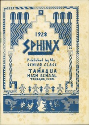 Page 5, 1928 Edition, Tamaqua High School - Sphinx Yearbook (Tamaqua, PA) online yearbook collection