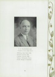 Page 15, 1933 Edition, Tamaqua High School - Sphinx Yearbook (Tamaqua, PA) online yearbook collection