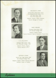 Page 16, 1939 Edition, Tamaqua High School - Sphinx Yearbook (Tamaqua, PA) online yearbook collection