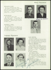 Page 13, 1952 Edition, Tamaqua High School - Sphinx Yearbook (Tamaqua, PA) online yearbook collection