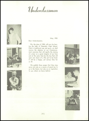 Page 9, 1955 Edition, Shamokin Area High School - Review Yearbook (Shamokin, PA) online yearbook collection