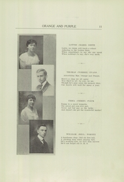 Page 13, 1917 Edition, Danville High School - Le Tresor Yearbook (Danville, PA) online yearbook collection