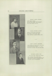 Page 14, 1917 Edition, Danville High School - Le Tresor Yearbook (Danville, PA) online yearbook collection