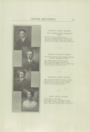 Page 17, 1917 Edition, Danville High School - Le Tresor Yearbook (Danville, PA) online yearbook collection