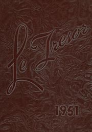 1951 Edition, Danville High School - Le Tresor Yearbook (Danville, PA)