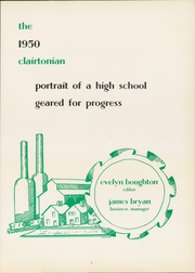 Page 5, 1950 Edition, Clairton High School - Clairtonian Yearbook (Clairton, PA) online yearbook collection