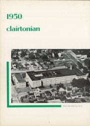 Page 6, 1950 Edition, Clairton High School - Clairtonian Yearbook (Clairton, PA) online yearbook collection