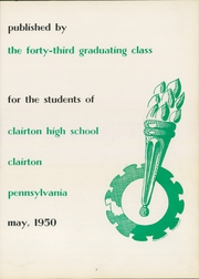Page 7, 1950 Edition, Clairton High School - Clairtonian Yearbook (Clairton, PA) online yearbook collection
