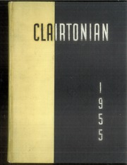 1955 Edition, Clairton High School - Clairtonian Yearbook (Clairton, PA)