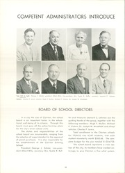 Page 14, 1955 Edition, Clairton High School - Clairtonian Yearbook (Clairton, PA) online yearbook collection