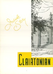 Page 6, 1955 Edition, Clairton High School - Clairtonian Yearbook (Clairton, PA) online yearbook collection