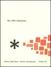 Page 5, 1959 Edition, Clairton High School - Clairtonian Yearbook (Clairton, PA) online yearbook collection