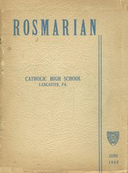 1945 Edition, Lancaster Catholic High School - Rosmarian Yearbook (Lancaster, PA)