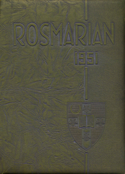 1951 Edition, Lancaster Catholic High School - Rosmarian Yearbook (Lancaster, PA)