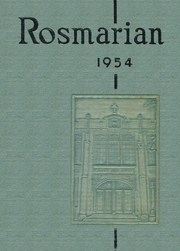 1954 Edition, Lancaster Catholic High School - Rosmarian Yearbook (Lancaster, PA)