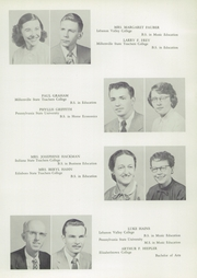 Page 13, 1957 Edition, Manheim Central High School - Stiegel Rose Yearbook (Manheim, PA) online yearbook collection