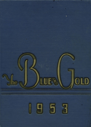 Page 1, 1953 Edition, Unionville High School - Blue and Gold Yearbook (Kennett Square, PA) online yearbook collection