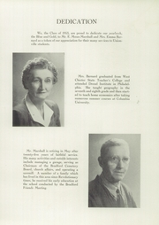 Page 7, 1953 Edition, Unionville High School - Blue and Gold Yearbook (Kennett Square, PA) online yearbook collection