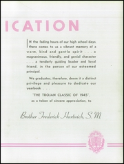Page 15, 1945 Edition, North Catholic High School - Trojan Yearbook (Pittsburgh, PA) online yearbook collection