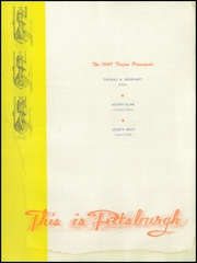 Page 6, 1947 Edition, North Catholic High School - Trojan Yearbook (Pittsburgh, PA) online yearbook collection