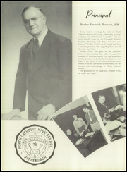 Page 20, 1955 Edition, North Catholic High School - Trojan Yearbook (Pittsburgh, PA) online yearbook collection