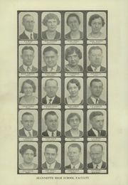 Page 6, 1930 Edition, Jeannette High School - Jayhawk Yearbook (Jeannette, PA) online yearbook collection