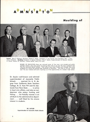 Page 10, 1955 Edition, Jeannette High School - Jayhawk Yearbook (Jeannette, PA) online yearbook collection