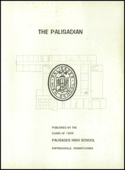 Page 5, 1959 Edition, Palisades High School - Palisadian Yearbook (Kintersville, PA) online yearbook collection