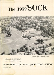 Page 3, 1959 Edition, Montoursville High School - Sock Yearbook (Montoursville, PA) online yearbook collection