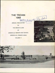 Page 7, 1969 Edition, Greenville High School - Trojan Yearbook (Greenville, PA) online yearbook collection